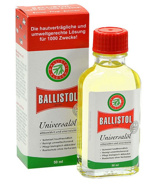 Ballistol Ballistic Oil for Weapon 50ml