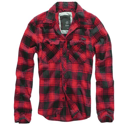 Brandit Check Shirt Red/Black