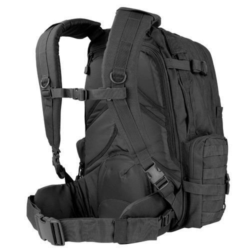 Condor Tactical Backpack 3-Day Assault Pack 50L Black