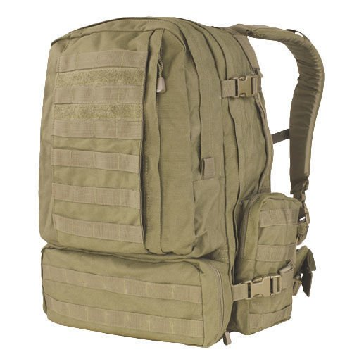 Condor Tactical Backpack 3-Day Assault Pack 50L Coyote