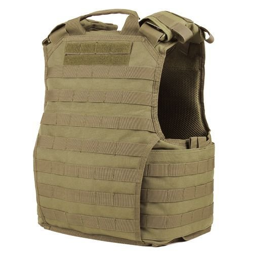 Condor Tactical Vest Exo Plate Carrier Coyote