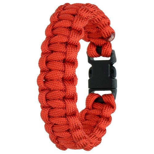 Highlander Paracord Bracelet 10mm Red