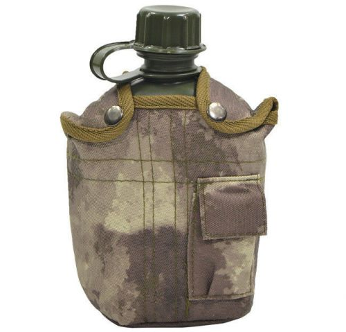 Max Fuchs 1QT US Style ALICE Canteen with Cover HDT Camo
