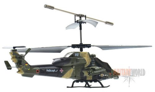 Max Fuchs Tiger UHT Remote Control Helicopter