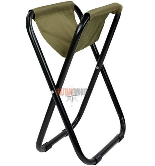Mil-Tec Camping Folding Chair W/O Chair Back Oliv