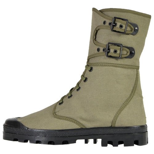 Mil-Tec French Buckle Boots Olive