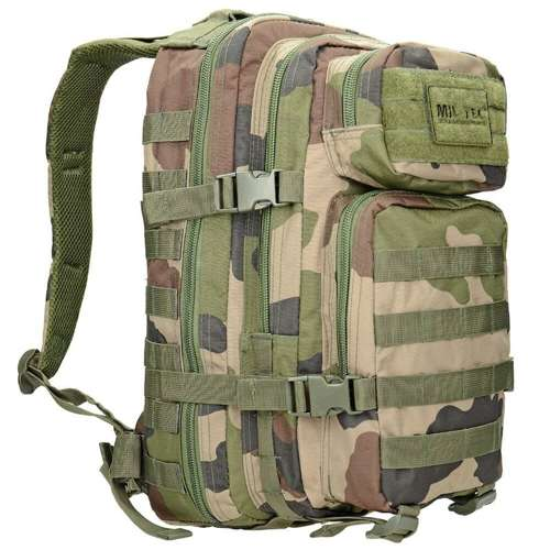 Mil-Tec MOLLE Tactical Backpack US Assault Small CCE