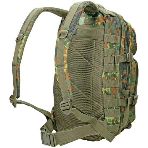 Mil-Tec MOLLE Tactical Backpack US Assault Small Flecktarn