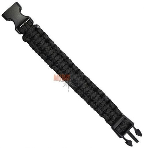 Mil-Tec Paracord 22mm Bracelet Black