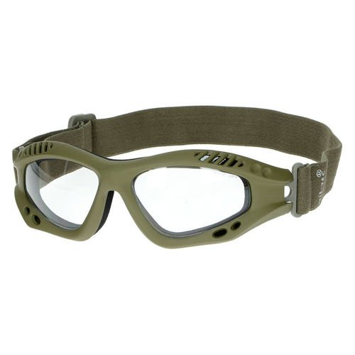 Mil-Tec Protective Goggles Clear Olive
