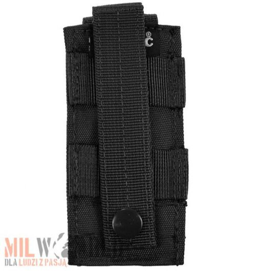 Mil-Tec Single Pistol Magazine Pouch MOLLE Black
