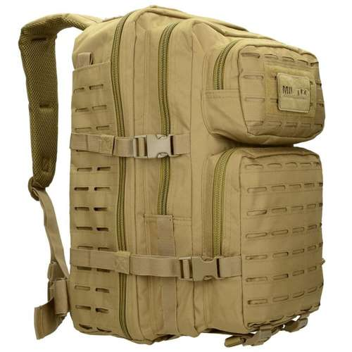 Mil-Tec Tactical Laser Cut Backpack Large Coyote