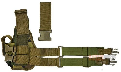 Mil-Tec Thigh Holster Right Woodland