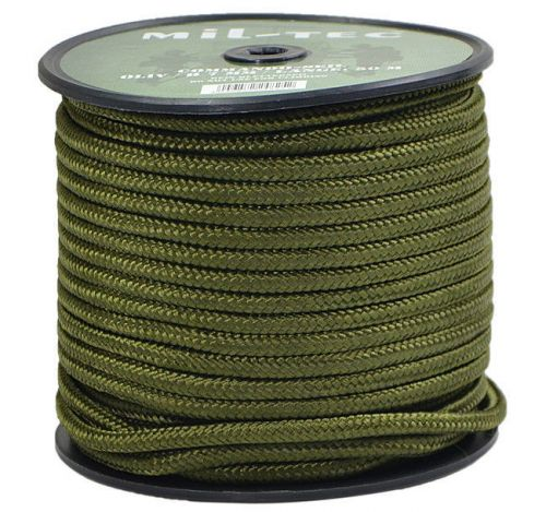 Mil-Tec Universal Rope Survival 7mm Olive [by the meter]