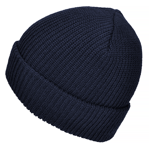 Mil-Tec Warm Winter Cap Polyacrylic Navy Blue