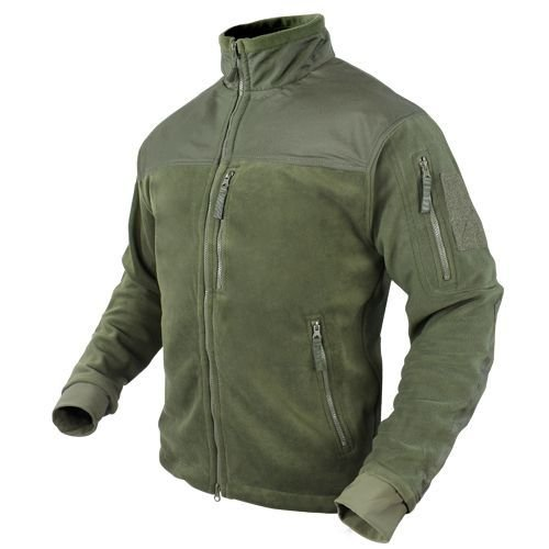 Condor Kurtka Alpha Micro Fleece Jacket Oliv