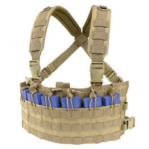 Condor Panel Piersiowy Rapid Assault Chest Rig Coyote