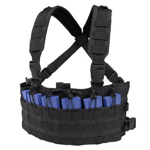 Condor Panel Piersiowy Rapid Assault Chest Rig Czarny