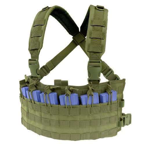 Condor Panel Piersiowy Rapid Assault Chest Rig Oliv