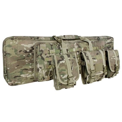 Condor Pokrowiec na Broń Double Rifle Case 42 Multicam