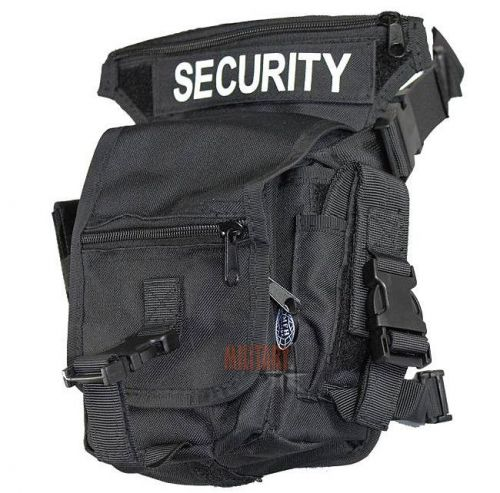 Max Fuchs Torba Udowa Hip Bag Security Czarna