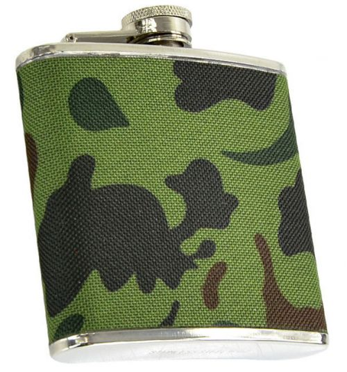 Mil-Tec Piersiówka 6 Oz (170ml) Woodland