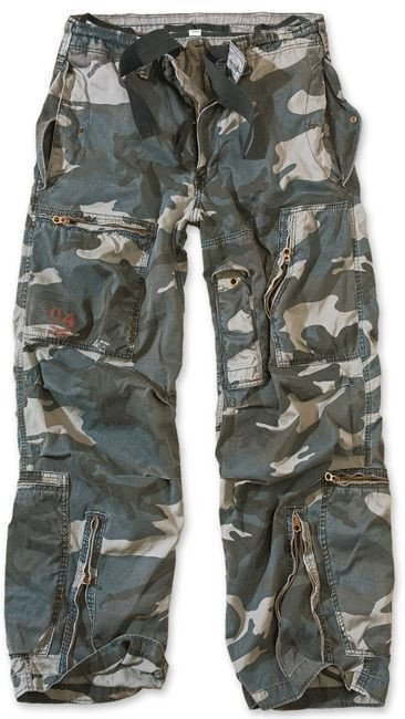 Surplus Spodnie Infantry Cargo Night Camo