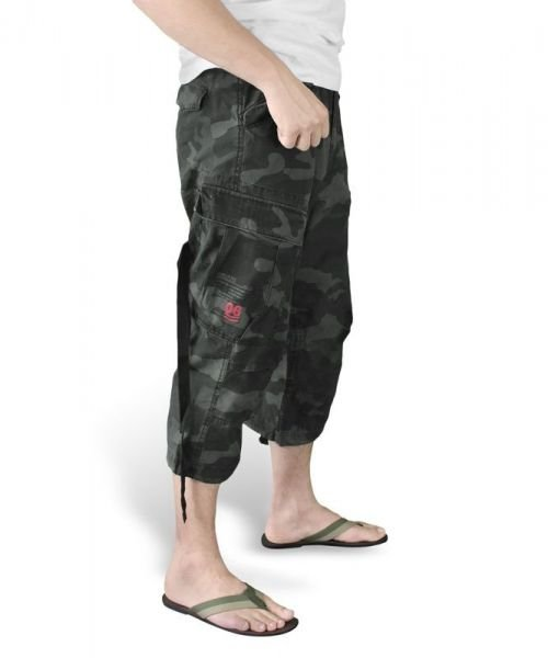 Surplus Szorty 3/4 M65 Engineer Black Camo