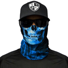 Skull Tech Blue Crow