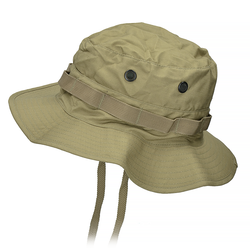 6ffbf65cb804b Details about Mil-Tec British RIPSTOP Bush BOONIE HAT with Neck Flap Coyote