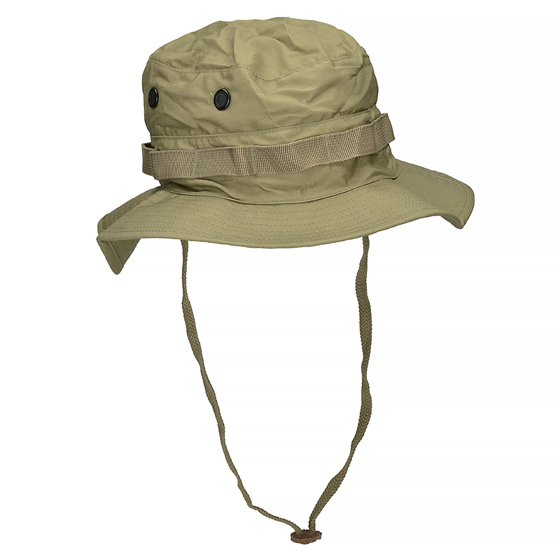 75f316f7ed5 Mil-Tec British RIPSTOP Bush BOONIE HAT with Neck Flap Coyote