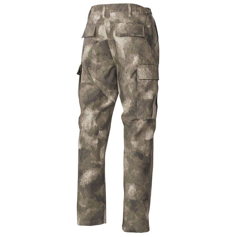MFH Herren US BDU Feldhose Rip Stop TARNHOSE Army Field Pants HDT Camo FG