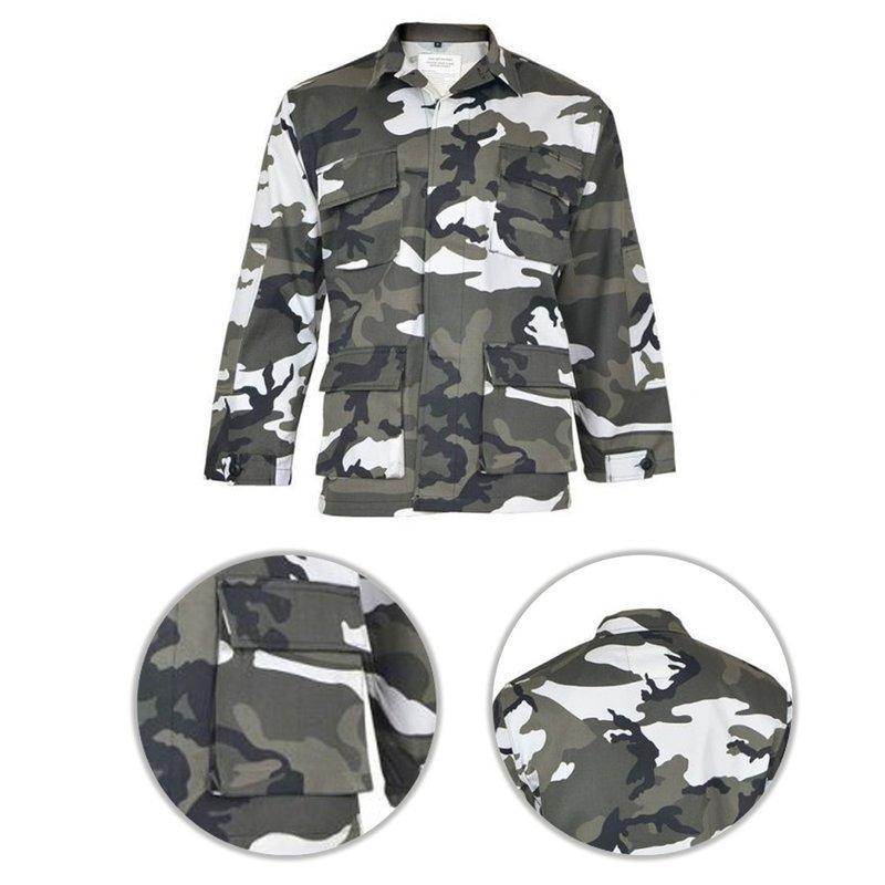 Mil-Tec US FELDJACKE TYP BDU AT-DIGITAL Outdoorjacke Jacke
