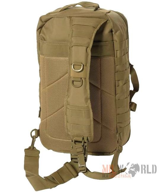 Mil-Tec 8L One Strap ASSAULT MOLLE PACK Rucksack Survival Reisen EDC Schwarz