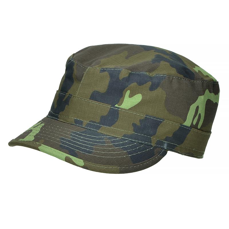 34ba202e2480a Details about MFH Mens US Army Style BDU Ripstop Field Cap Czech Woodland  Camo