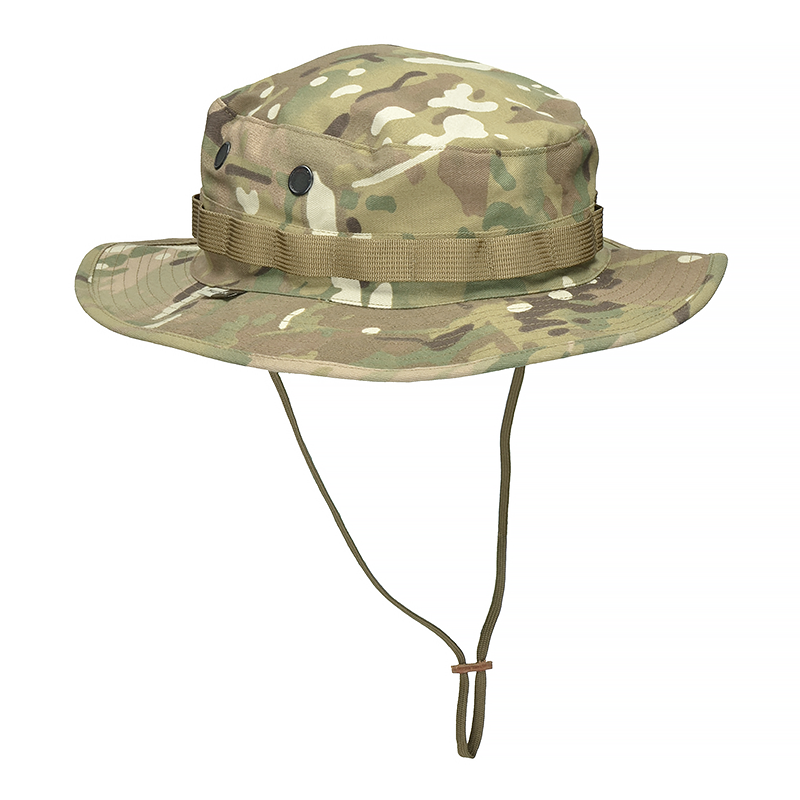 Bulldog Tactical Military Army Airsoft Hiking Beach Bucket Boonie Hat MTP MTC