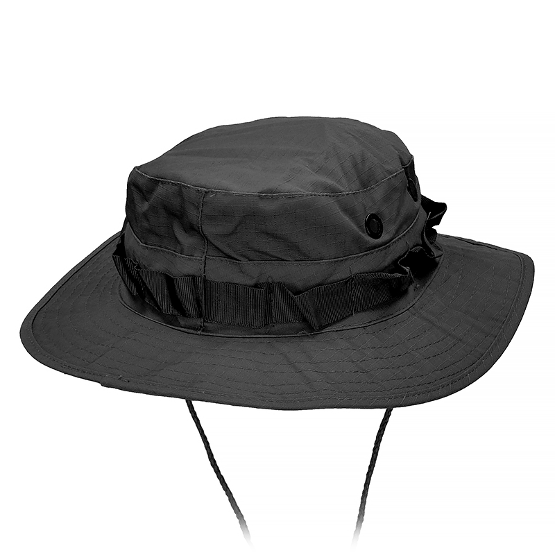 Details about MFH US Tactical Military Ripstop Boonie Jungle Bush Hat Black 38d4b3b965c