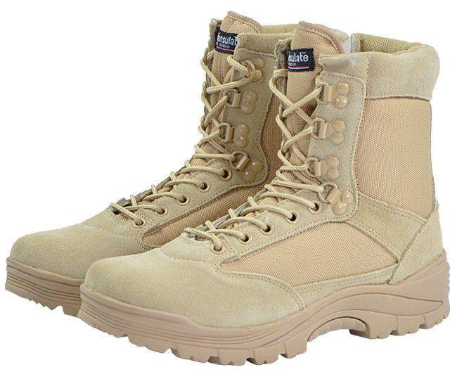newest 3a3fe 9b321 Mil-Tec Tactical Boots Khaki .