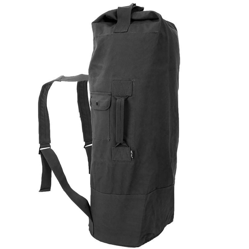 fc8f71d4a4 Mil-Tec Sailor US Cotton Duffle Bag w  Shoulder Straps Holdall ...