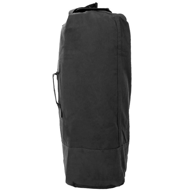 Mil-Tec 75 litre Sac de marin US HOLDALL DUFFLE BAG avec Bretelles Noir