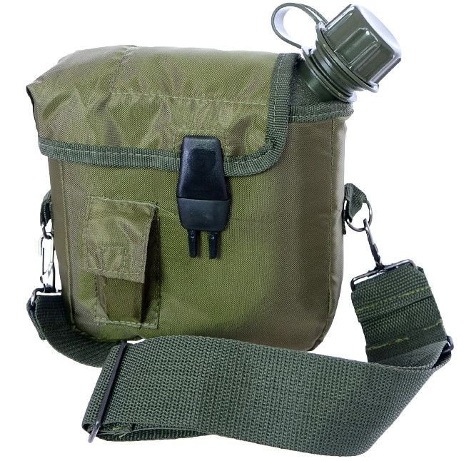 Stainless steel military pouch army pocket alcohol support 4 5 227ml