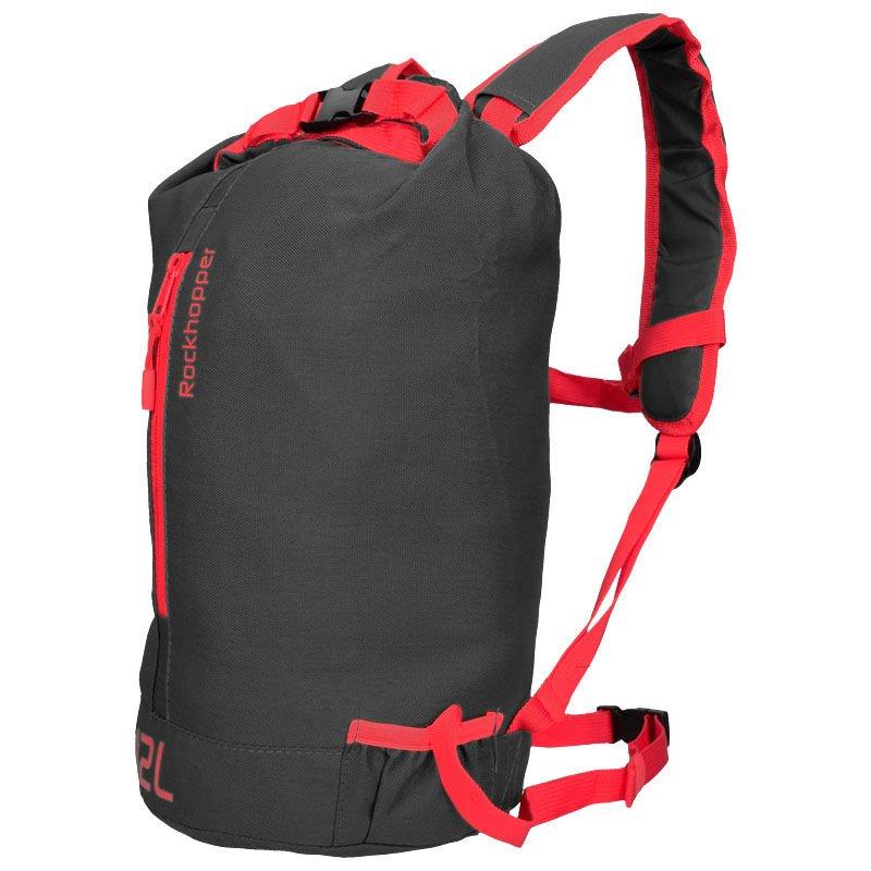 Highlander Rockhopper Travel Backpack 12 Black