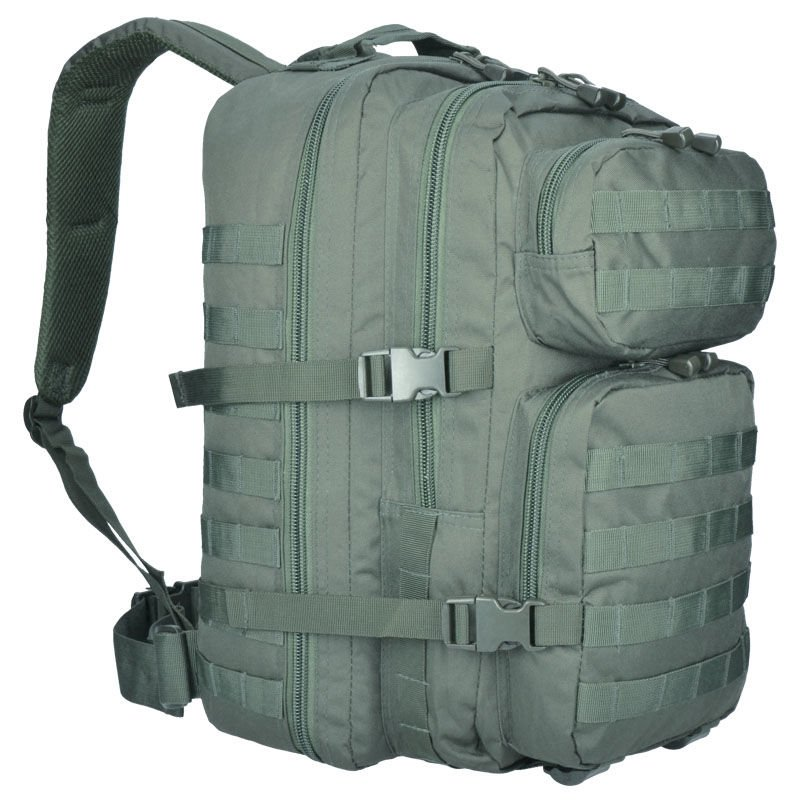 53ce7631dd8 Details about Mil-Tec 36L Large US Assault Patrol Tactical Backpack MOLLE  Rucksack Foliage