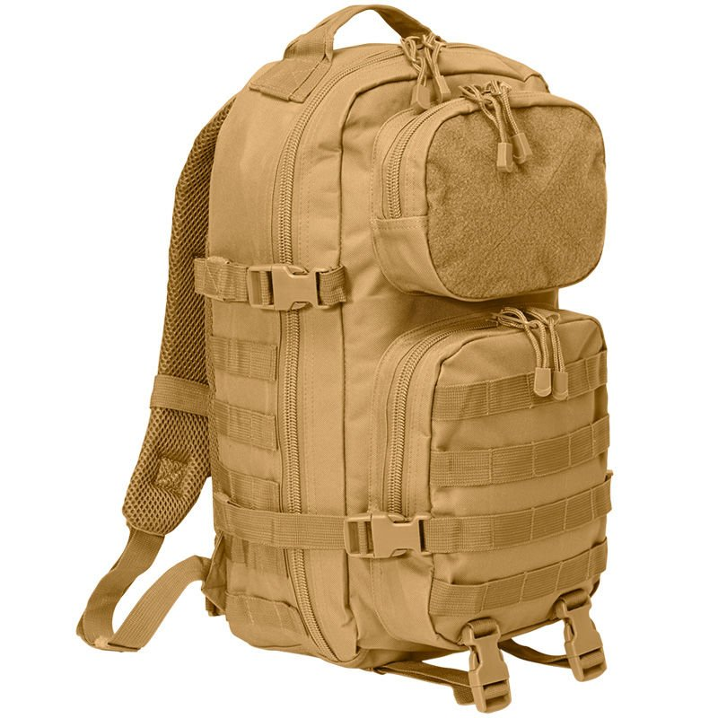 Brandit 8022 25l US Cooper Assault MOLLE Armee Rucksack mit Patch-Fläche Navy