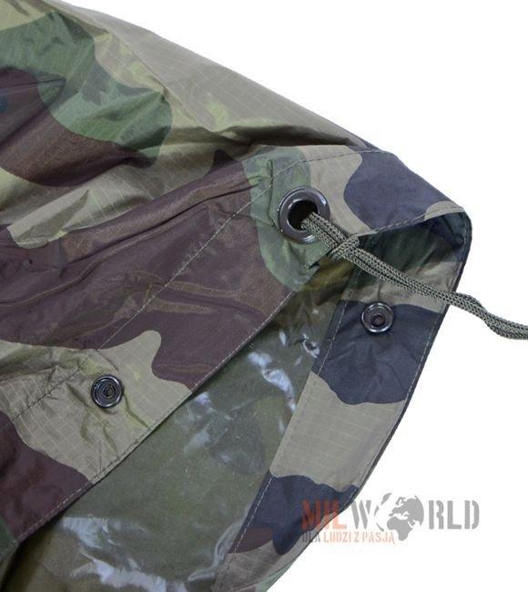 US Poncho Ripstop Regenbekleidung Regenschutz Regenponcho mit Kapuze coyote