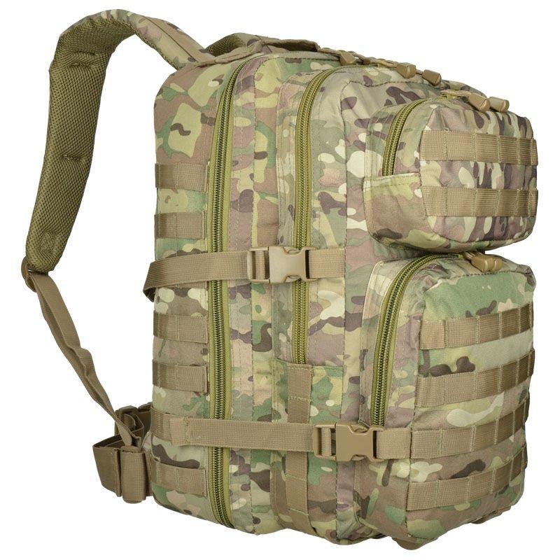 96990379f755 Details about Mil-Tec 36L Large US Assault Patrol Tactical Backpack MOLLE  Rucksack Multitarn