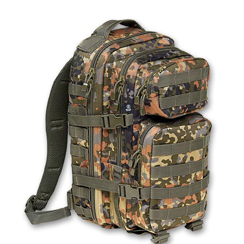 BRANDIT US Cooper large Assault Pack II flecktarn BW Army Rucksack Wandern