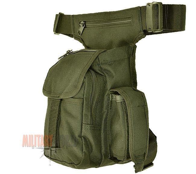 Mil-Tec Army Airsoft Jagd Hüfttasche Beintasche Haupttasche MULTI PACK Oliv
