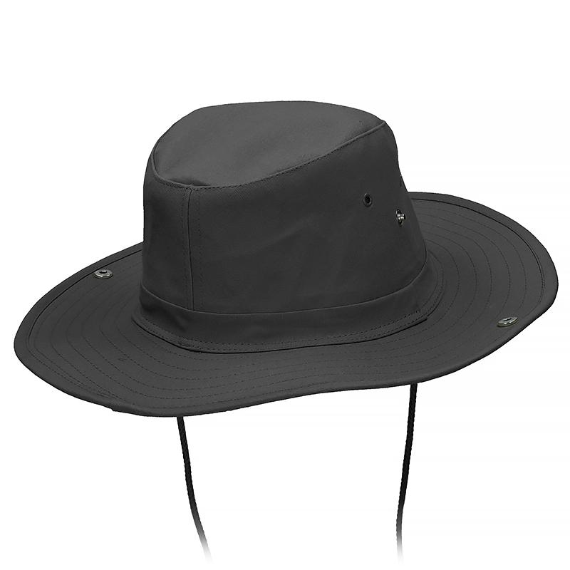 e1716e86142 ... Mil-Tec Bush Hat Black ...