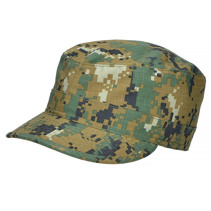 MFH Mens US Army Style BDU Ripstop Field Cap Tiger Stripe Camo